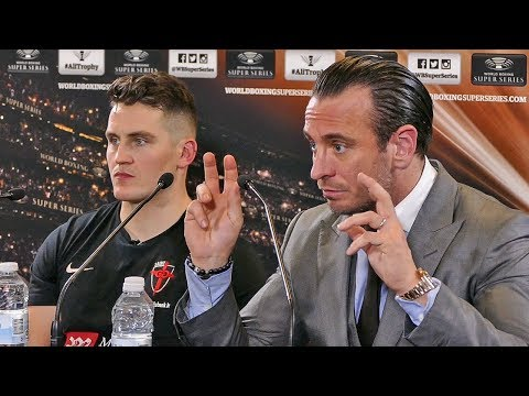 George Groves POST FIGHT PRESS CONFERECE with Shane McGuigan & Kalle Sauerland