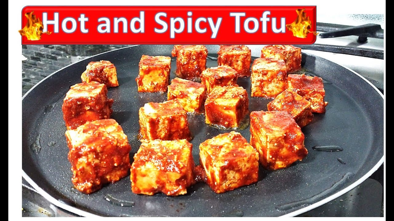 Hot And Spicy Tofu Recipe — Dishmaps