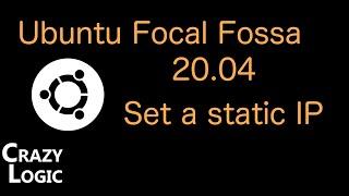 #33 - Ubuntu 20.04 set a Stati…