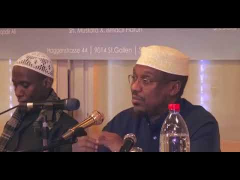 Muxaadaro Cusub   Sheikh Mustafa Haji Ismail    2018