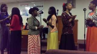 SAT Young Sisters sing Every Praise (Is To Our God)