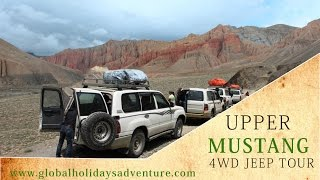 Upper Mustang Jeep Tour | Mustang Expedition | Road Trip to Mustang