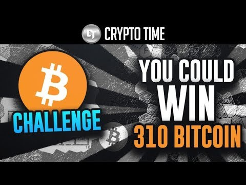 YOU Can Win 310 Bitcoins By Solving This Puzzle... (Not Clickbait)
