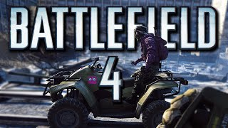 Battlefield 4 Funny Moments - Alien Gun Backfire, Game Chat Fun, Most Epic Failures! (Battlefield 4)