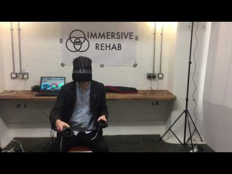 Immersive Rehab's Virtual Reality Rehab Platform - Fun Fair Towers