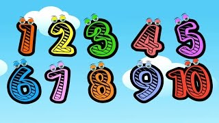 Numbers Song | Children Songs | Learn English Numbers Song | 10 Little Numbers