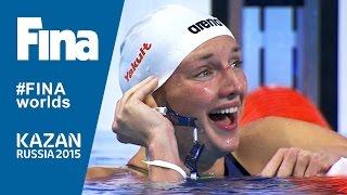 Katinka Hosszu Beats 200m IM World Record in Kazan