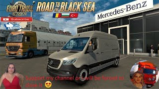 Euro Truck Simulator 2 (1.36)   Mercedes Sprinter 2019 BETA v0.1 Istanbul Turkey DLC Road to the Black Sea by SCS Software Naturalux Graphics and Weather + DLC's & Mods https://ets2.lt/en/mercedes-sprinter-2019-beta-0-1/  Support me please thanks Support
