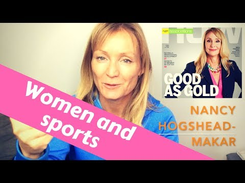 Women and sports. Olympic champion fights for women's rights. Athlete Story Nancy Hogshead-Makar
