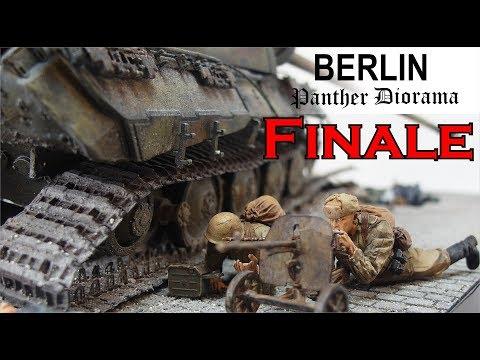FINALE Berlin 1944/45 Panther Diorama 1/35 Teil 5