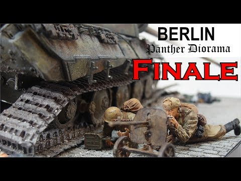 FINALE Berlin 1944/45 Panther Diorama 1/35 Teil 5
