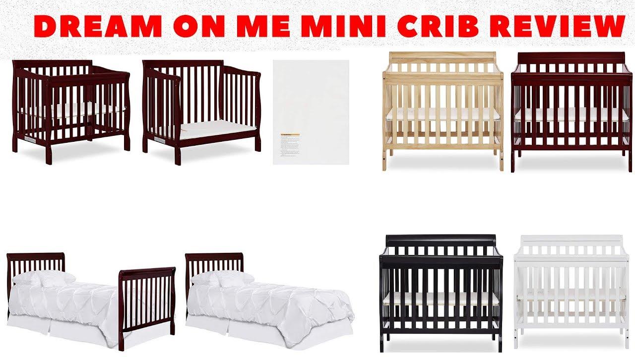 DREAM ON ME MINI CRIB REVIEW - YouTube