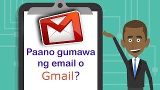 PAANO GUMAWA NG حساب البريد الإلكتروني GAMIT انج GMAIL / كيفية جعل حساب بريد إلكتروني