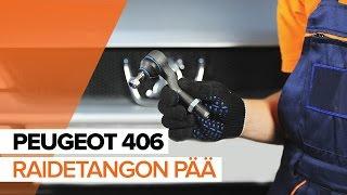 Kuinka vaihtaa Kallistuksenvakaajan kumit PEUGEOT 406 Break (8E/F) - käsikirja