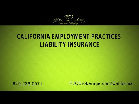California Employment Practices Liability Insurance by PJO Insurance Brokerage