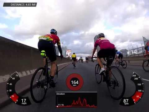2016 Ride London 100 Miles Full Ride