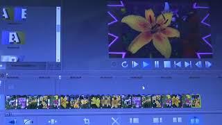 """Программа """"MOVIE STUDEO""""---создание эффектных переходов между фото или видео."""