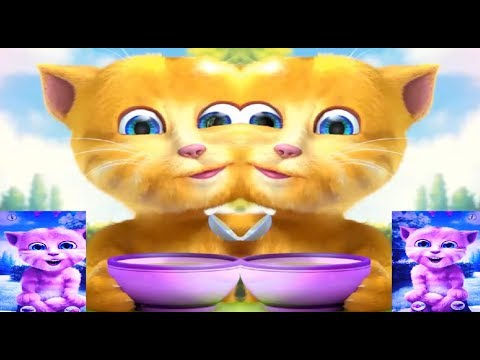 Baby Learn Colors with My Talking Ginger Cat with Finger Family Songs Nursery Rhymes Songs for Kids