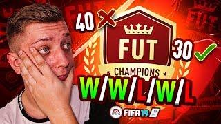 FIFA 19 - REWOLUCJA FUT CHAMPIONS - TYLKO 30 SPOTKAŃ - BRAK NAGRÓD MIESIĘCZNYCH!!