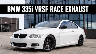 vrsf race exhaust sound clips first impressions n55 bmw 335i