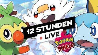 12h Pokémon Schild & Schwert - TAG 1   #ungespielt