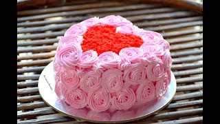 heart shaped cake red velvet cake icing cake decoration