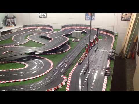 My Carrera slot car track