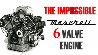 The IMPOSSIBLE MASERATI 6 Valve Engine - The 6.36