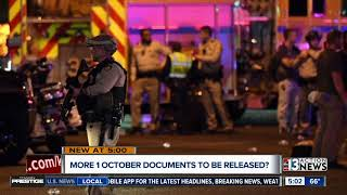 More 1 October documents could be released