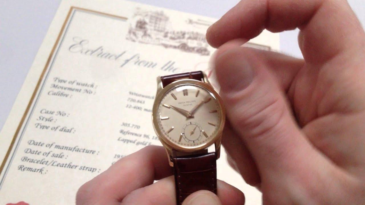 0fe02ee458a4 PATEK PHILIPPE vintage wristwatch