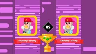 Bowmasters Gameplay | Lil Dump Jeremy vs Lil Dump Jeremy