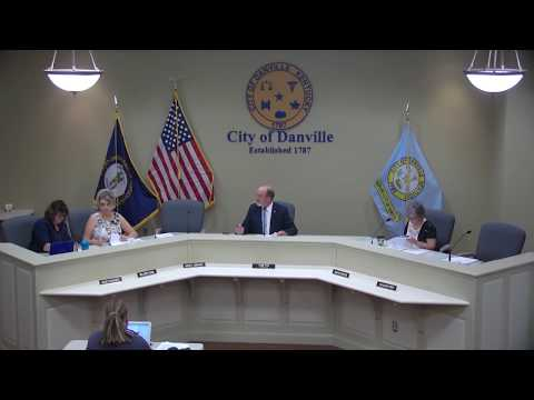 Danville Architectural Heritage Board Meeting 07/19/2017