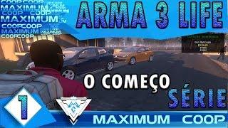 ARMA 3 AUSTRALIA LIFE COOP #1 - O COMEÇO DE UMA COISA MUITO SÉRIA! / Gameplay 1080p  PT-BR