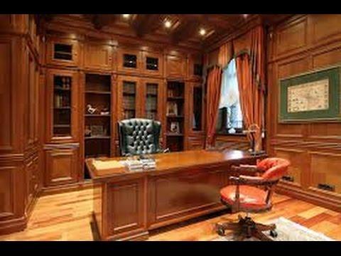 Домашний кабинет от латвийского дизайнера ПРОЕКТ 119 серия Квартирный вопрос