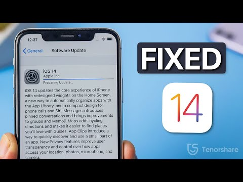 How To Fix IOS 14 Update Stuck On Preparing Update On IPhone 11/XS/XR/X/8/7/6S