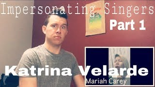 Katrina Velarde - Impersonating Singers (Part 1) | REACTION