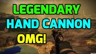 destiny legendary hand cannon reward crucible iron banner gameplay