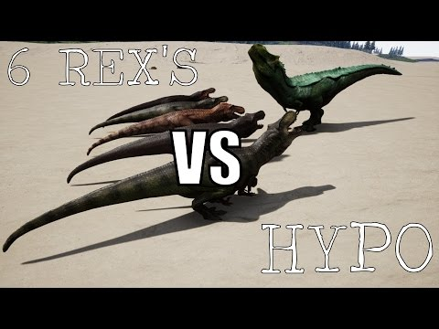 The Isle: HYPO REX Vs 6 T-REX'S {Ep.186}