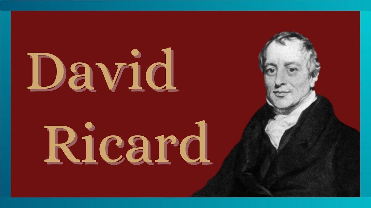 【Part①】経済学を確立させた男:デビット・リカード 経済の歴史と仕組みをわかりやすく解説