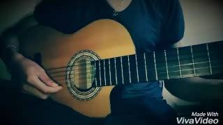 Instrumental cheb akil mazal mazal guitar solo cover