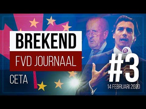 FVD Journaal #3: CETA en Immigratie [14 februari 2020] NIEUW!