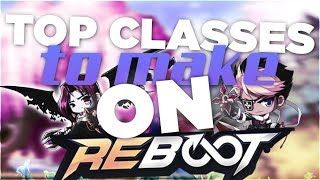 MapleStory Reboot What Is The best class you Should Play