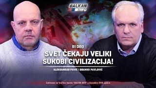 AKTUELNO: Aleksandar Pavić i Branko Pavlović – Svet čekaju veliki sukobi civilizacija! (28.12.2019)