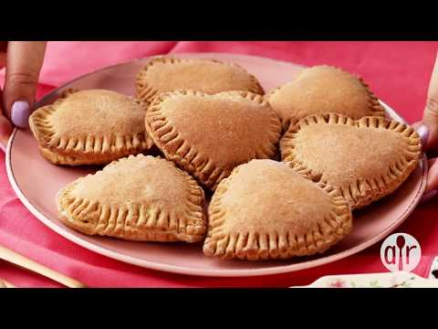 How to Make Heart Shaped Mini Calzones| Valentine's Day Recipes | Allrecipes.com