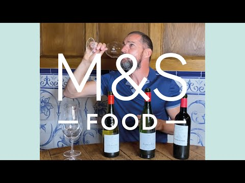 Classics wine tasting part deux with Fred Sirieix (and an unexpected reaction...) | M&S FOOD
