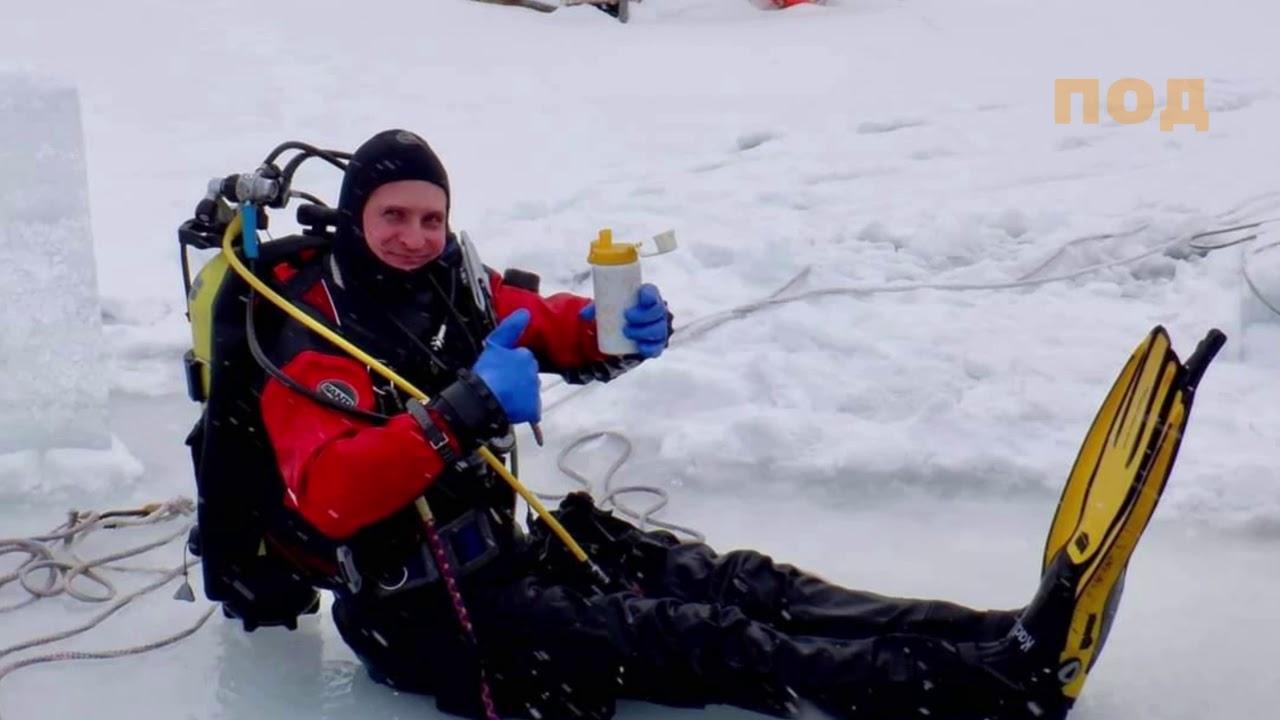 Великолепный лед! Или мы подледные дайверы!
