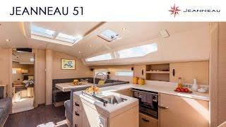 Jeanneau 51 - Aménagement intérieur du bateau