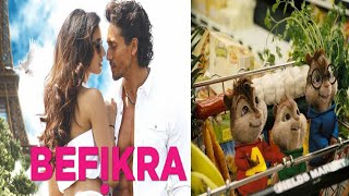 Befikra FULL SONG | Tiger Shroff, Disha Patani | Meet Bros | Sam Bombay♥Chipmunk Version♥