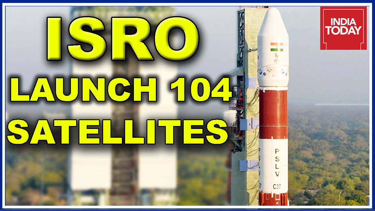 First Up ISRO Set To Launch World Record Satellites In One Go - Today satellite image of world