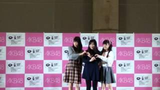 参加メンバー:吉川七瀬、高橋彩音、左伴彩佳.
